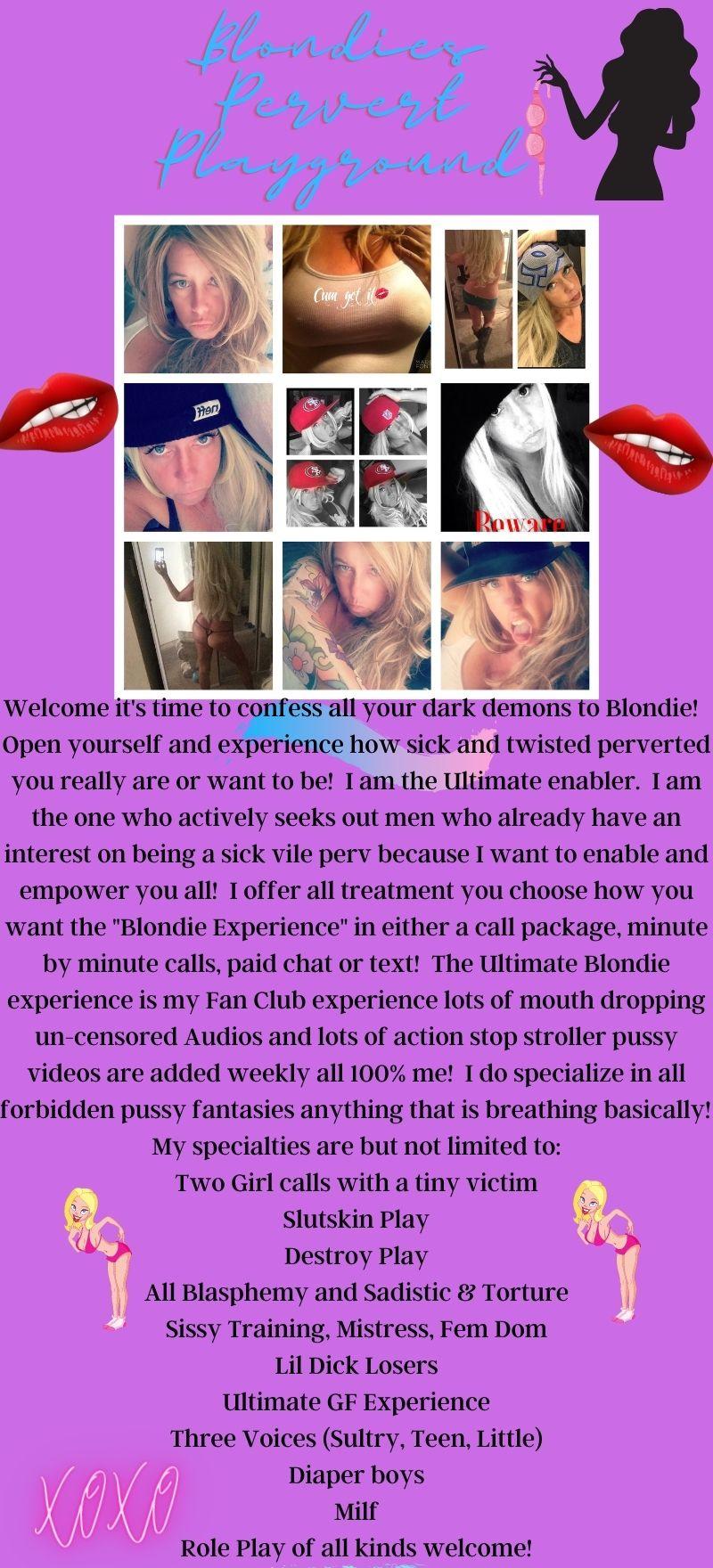 Blondie Phone Sex