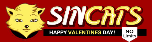 Happy Valentines Day from www.sincats.com