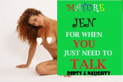 Mature Jen Nasty, Dirty Vile Ageplay