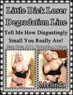 Little Dick Loser Degredation Line