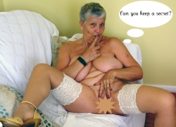 Uncensored Phone Sex with Sinfully Granny